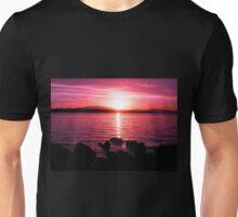 Tasmanian Sunset No.7 Unisex T-Shirt