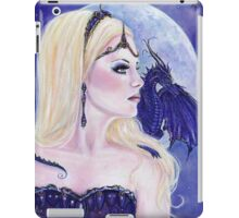 Adelina and the dragons moon by Renee Lavoie iPad Case/Skin