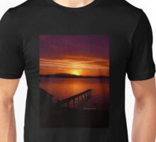 Tasmanian Sunsets No. 10 Unisex T-Shirt