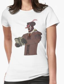 Spy Team Fortress 2  Womens Fitted T-Shirt
