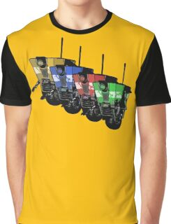 Robot Army Graphic T-Shirt