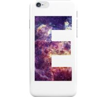 E nebula stars pattern  iPhone Case/Skin