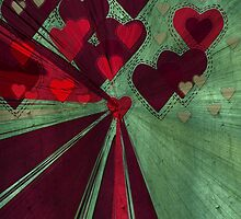 Love Burst Grunge by webgrrl