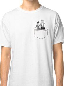 Haikyuu!! Tanaka and Nishinoya Pocket  Classic T-Shirt
