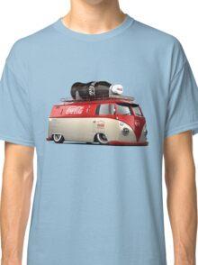 vw-red-volkswagen Classic T-Shirt