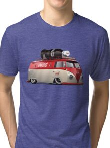 vw-red-volkswagen Tri-blend T-Shirt