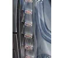 Sports Car Lights Photographic Print