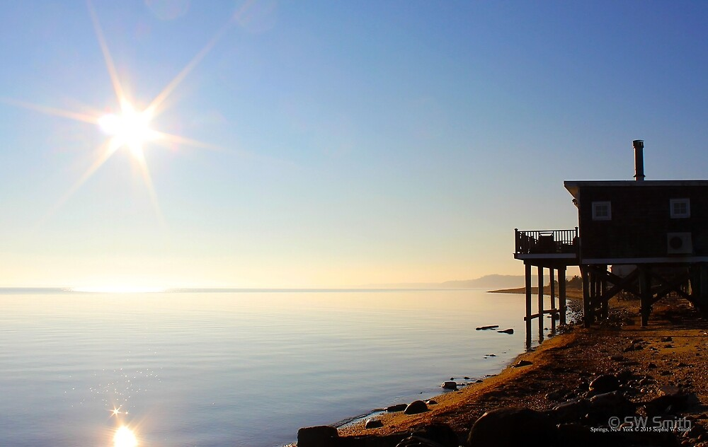 Sunny Morning - Gardiners Bay | Springs, New York by © Sophie W. Smith