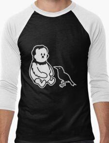 Winnie the Poe - Poe, der Bär Men's Baseball ¾ T-Shirt