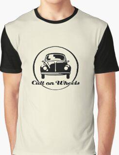 Beetle - Cult on Wheels (black) Graphic T-Shirt