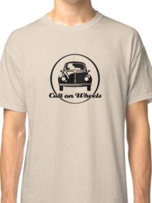 Beetle - Cult on Wheels (black) Classic T-Shirt