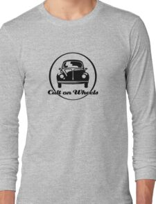 Beetle - Cult on Wheels (black) Long Sleeve T-Shirt