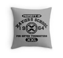 X-MEN XAVIER´S SCHOOL Throw Pillow