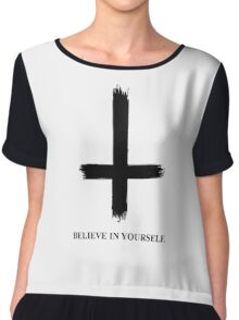 Believe in Yourself Chiffon Top