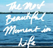 BTS - The Most Beautiful Moment in Life Sticker