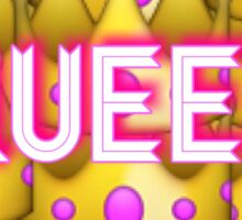 QUEEN crown emoji Sticker