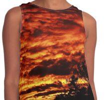 Raging Sunset Views Contrast Tank