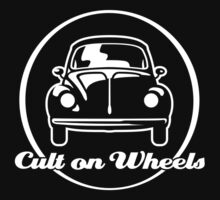Beetle - Cult on Wheels (white) One Piece - Short Sleeve