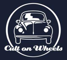 Beetle - Cult on Wheels (white) Baby Tee