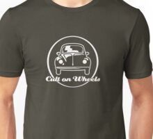 Beetle - Cult on Wheels (white) Unisex T-Shirt