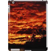 Raging Sunset Views iPad Case/Skin