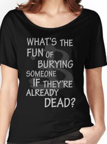What's The Fun…. Women's Relaxed Fit T-Shirt