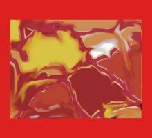 Squazzle Original Digital Abstract Art Design One Piece - Short Sleeve