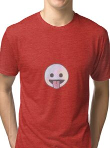 Smiley face Tri-blend T-Shirt