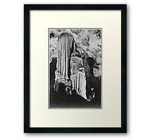 Ansel Adams - Carlsbad Cavern Framed Print