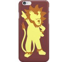 Der Partylöwe - party animal iPhone Case/Skin