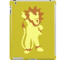 Der Partylöwe - party animal iPad Case/Skin