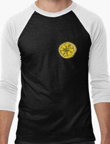 Silkscreen lemon, Stone Roses inspiration Men's Baseball ¾ T-Shirt