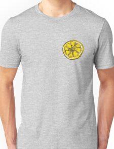 Silkscreen lemon, Stone Roses inspiration Unisex T-Shirt