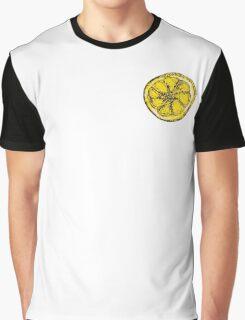 Silkscreen lemon, Stone Roses inspiration Graphic T-Shirt