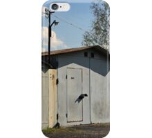 old private garages in a row iPhone Case/Skin