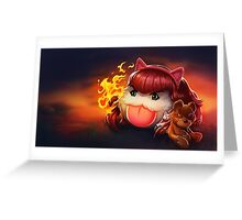 Annie poro Greeting Card