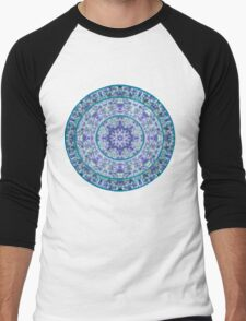 Compass Point Kaleidoscope 1 Men's Baseball ¾ T-Shirt