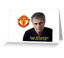 NEW JOSE MOURINHO THE SPECIAL ONE - 04 Greeting Card
