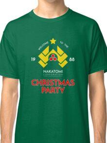 Nakatomi Corp Christmas Party 1988 T-Shirt Classic T-Shirt