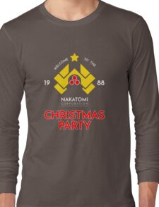 Nakatomi Corp Christmas Party 1988 T-Shirt Long Sleeve T-Shirt