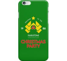 Nakatomi Corp Christmas Party 1988 T-Shirt iPhone Case/Skin