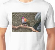 Purple Crowned Pigeon Unisex T-Shirt