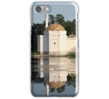 Mosque reflection in the water iPhone Case/Skin