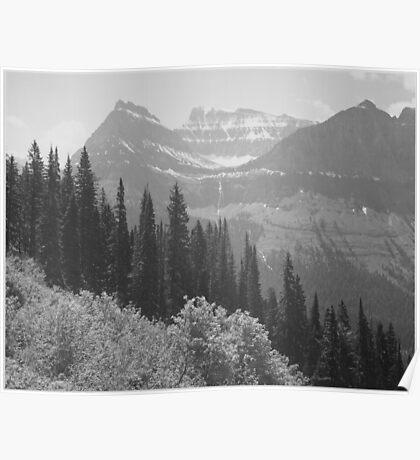 Ansel Adams - Glacier National Park Poster