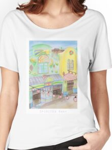 Spirited Away Background Design Women's Relaxed Fit T-Shirt