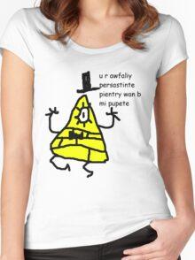 Bill Cipher - b mi pupete Women's Fitted Scoop T-Shirt