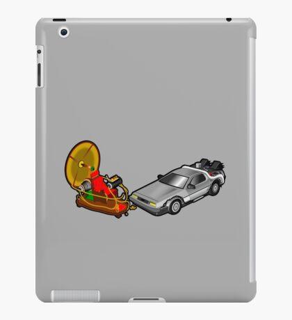 Zeitmaschinenschaden - crash in the fourth dimension iPad Case/Skin