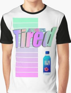 Always tired Vaporwave aesthetics Graphic T-Shirt