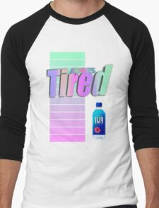 Always tired Vaporwave aesthetics Men's Baseball ¾ T-Shirt