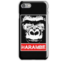 Remember Harambe iPhone Case/Skin
